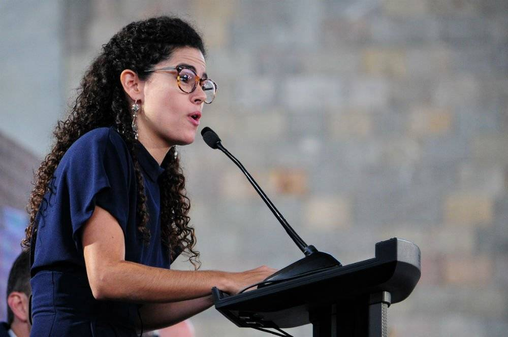 Luisa María Alcalde, secretaria del Trabajo Foto: Cuartoscuro