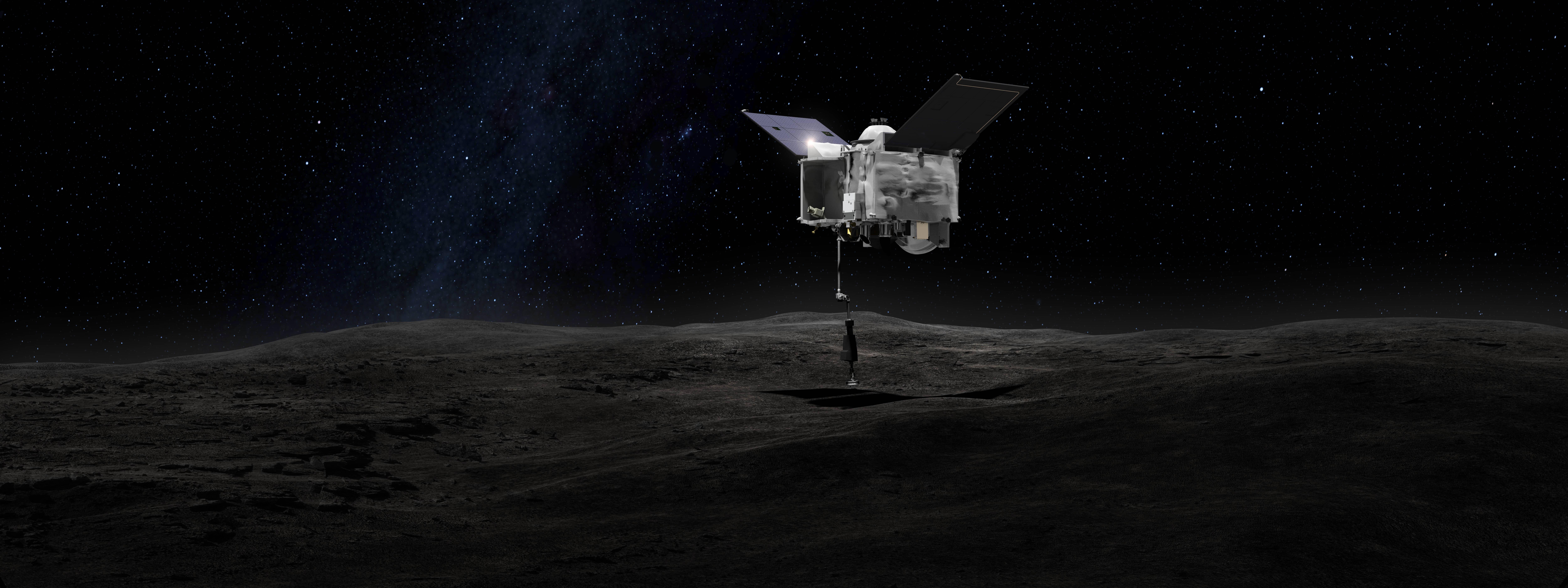 Asteroide potencialmente peligroso para la Tierra ya fue alcanzado por la sonda OSIRIS-Rex de la NASA