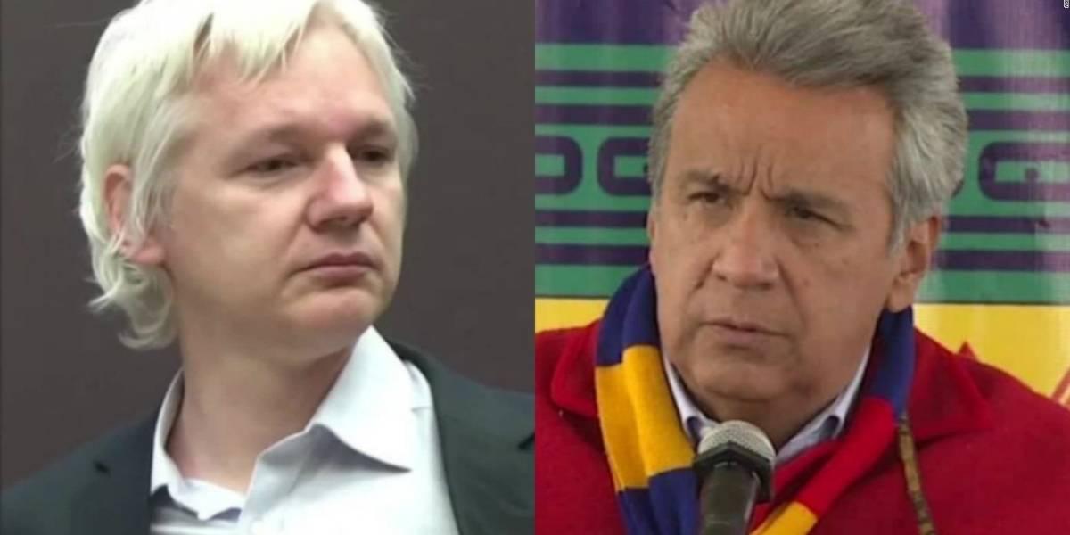 """Rechazan plan del gobierno de Ecuador: """"Assange no es un esclavo que se vende por dinero"""""""