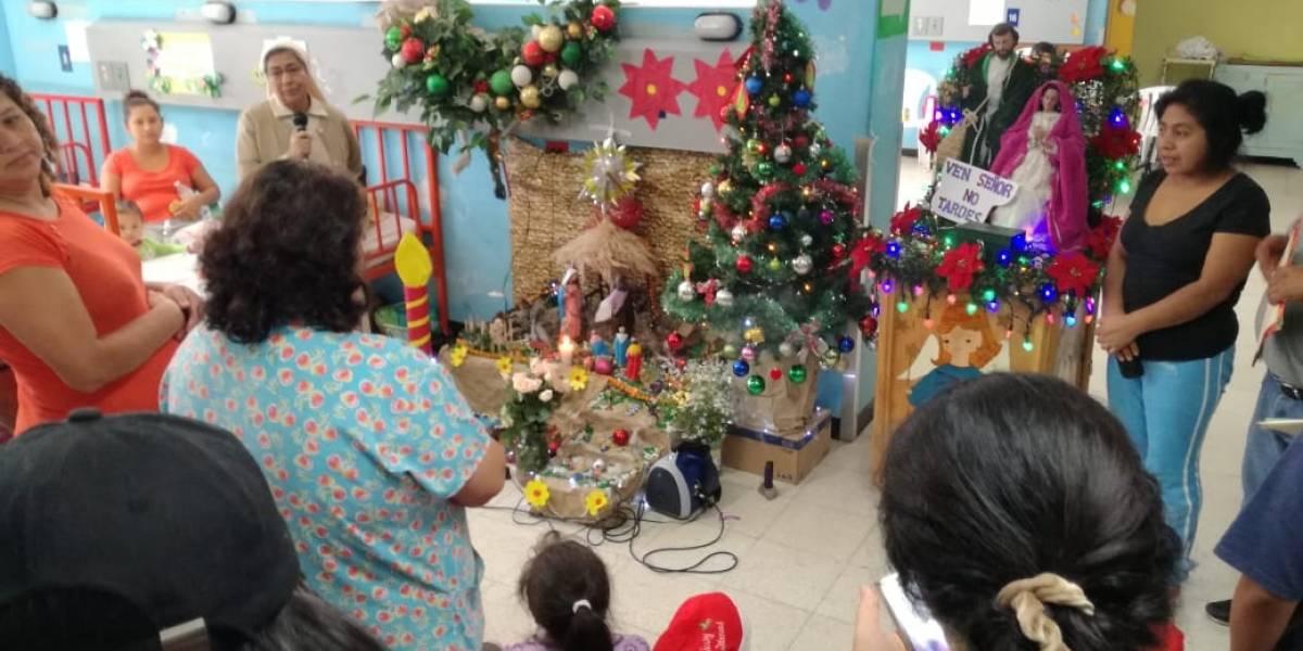 VIDEO. Realizan posada para niños internos del Hospital General San Juan de Dios