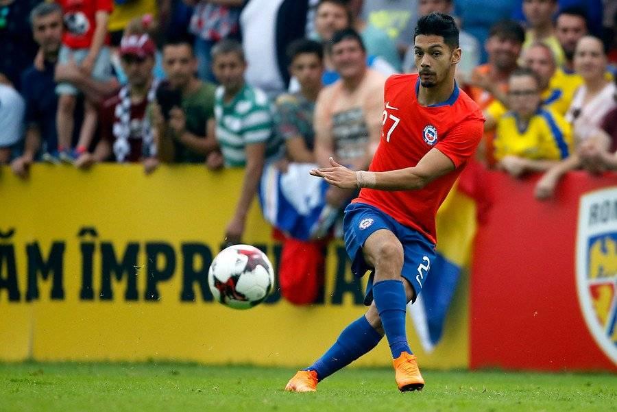 Jimmy Martínez debutó por la Roja en 2018 / Foto: Photosport