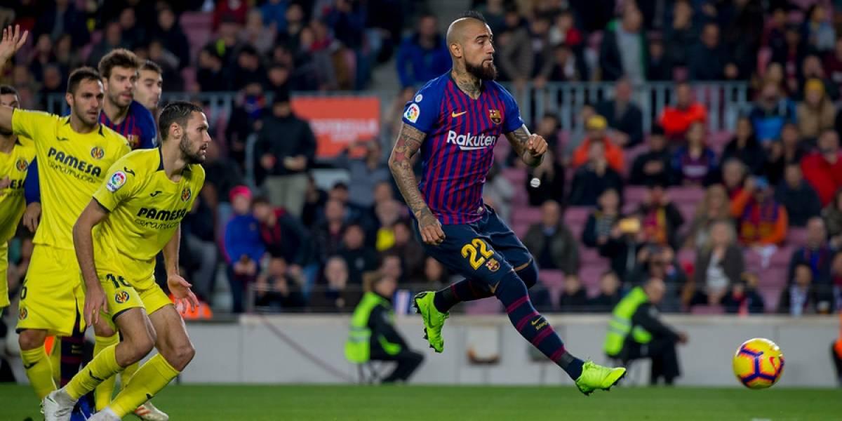 """Valverde no para de elogiar a Vidal: """"Te lo da todo, su entusiasmo de empujar al equipo es muy bueno"""""""