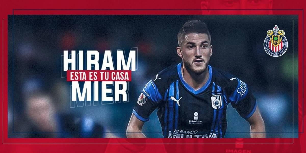 Chivas oficializa el fichaje de Hiram Mier