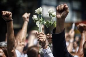 Damnificados del Multifamiliar Tlalpan y otros inmuebles en la Ciudad de México
