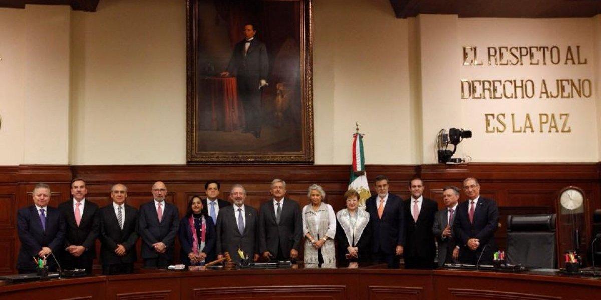 Cuatro ministros cumplen requisitos para presidir la SCJN