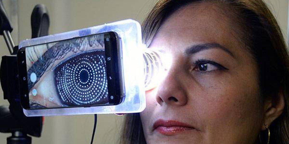 El dispositivo portátil de la UNAM que diagnostica problemas oculares