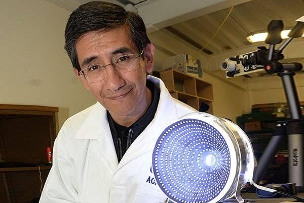 Manuel Campos García, del Instituto de Ciencias Aplicadas y Tecnología de la UNAM. Foto: UNAM