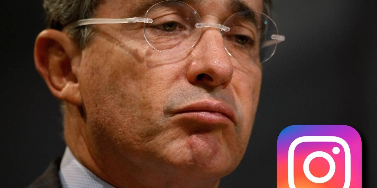 Colombia: El expresidente Álvaro Uribe denunció que su cuenta de Instagram fue hackeada