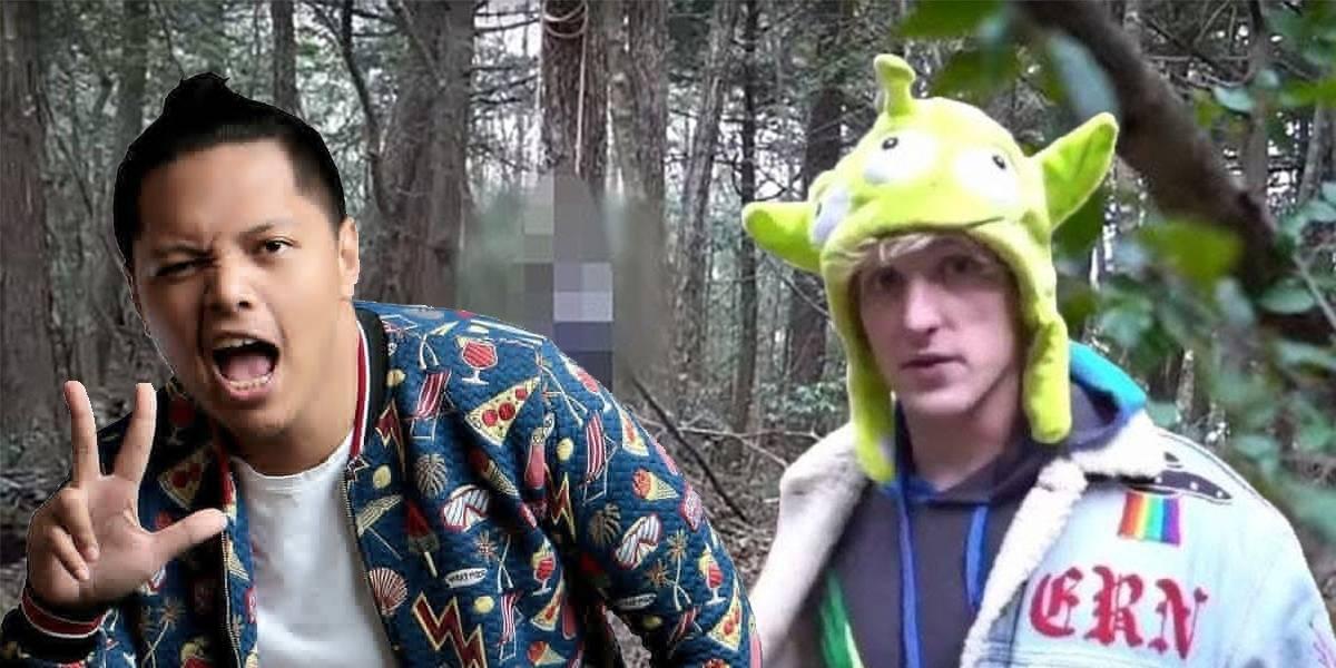 Youtuber Qorygore hace un Logan Paul y graba a un suicida en Japón