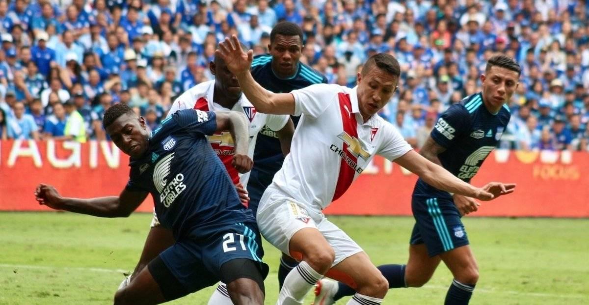 Última Hora: FEF aprobó cambio de horario para la final de vuelta entre Liga de Quito vs Emelec API