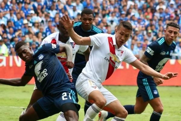 Las entradas para Emelec vs Liga de Quito se agotaron este lunes