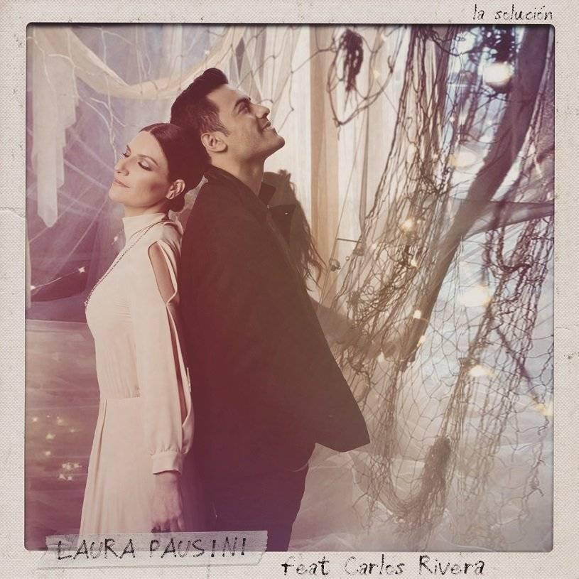 """Laura Pausini estrena el videoclip de """"La solución"""" junto con Carlos Rivera Cortesía"""