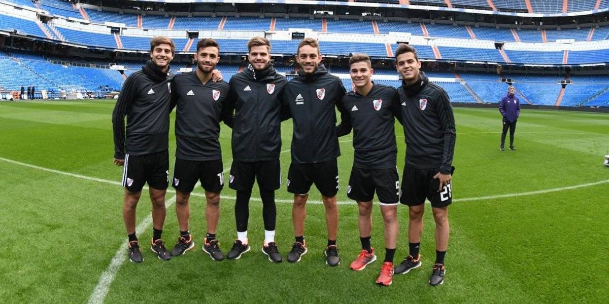 River Plate reconoce el Santiago Bernabéu