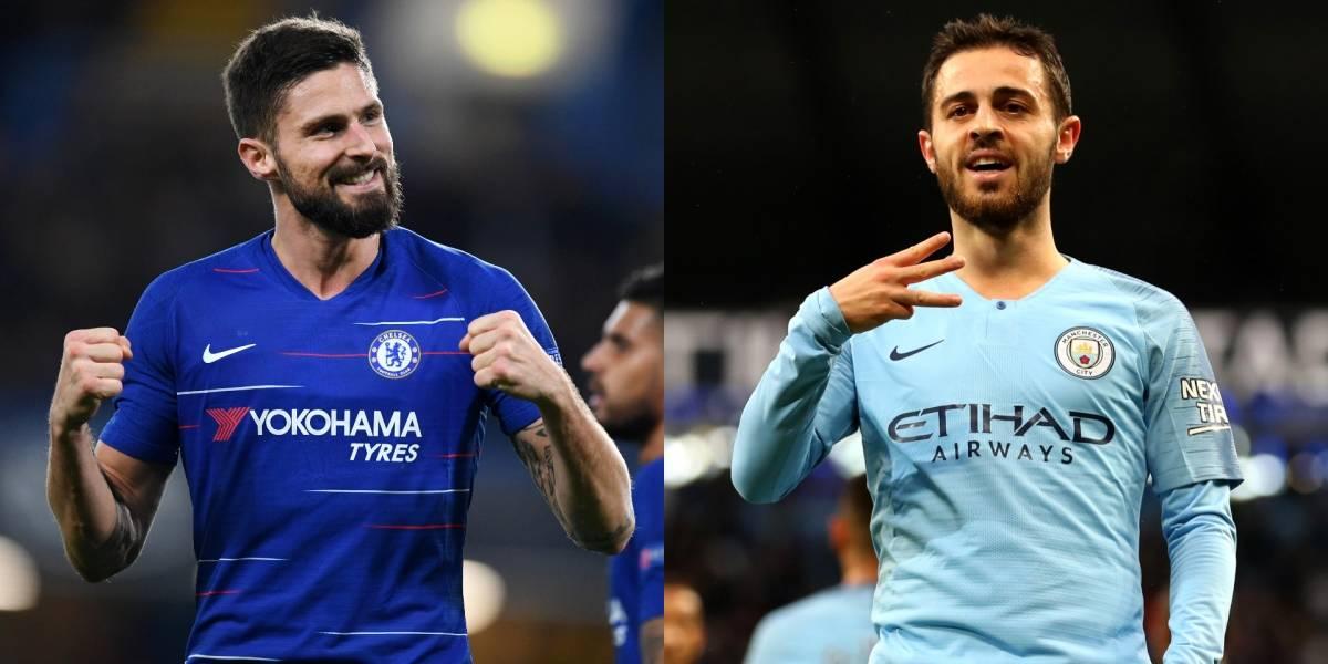 Chelsea y Manchester City encienden los flashes en la Premier League
