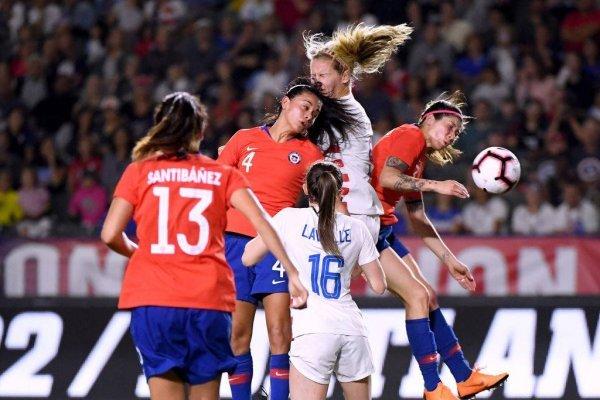 La Roja tendrá que enfrentar a la poderosa selección de Estados Unidos en el Mundial de Francia / Foto: Getty Images