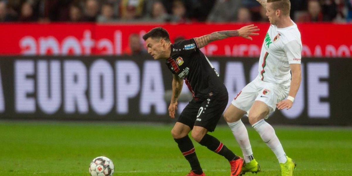 Aránguiz sigue sumando minutos en un Leverkusen que se recupera en la Bundesliga