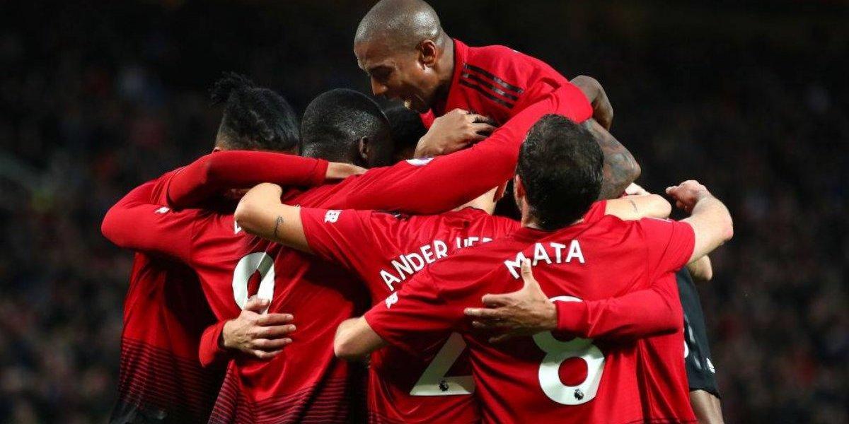 Manchester United y Arsenal igualaron en intenso partido