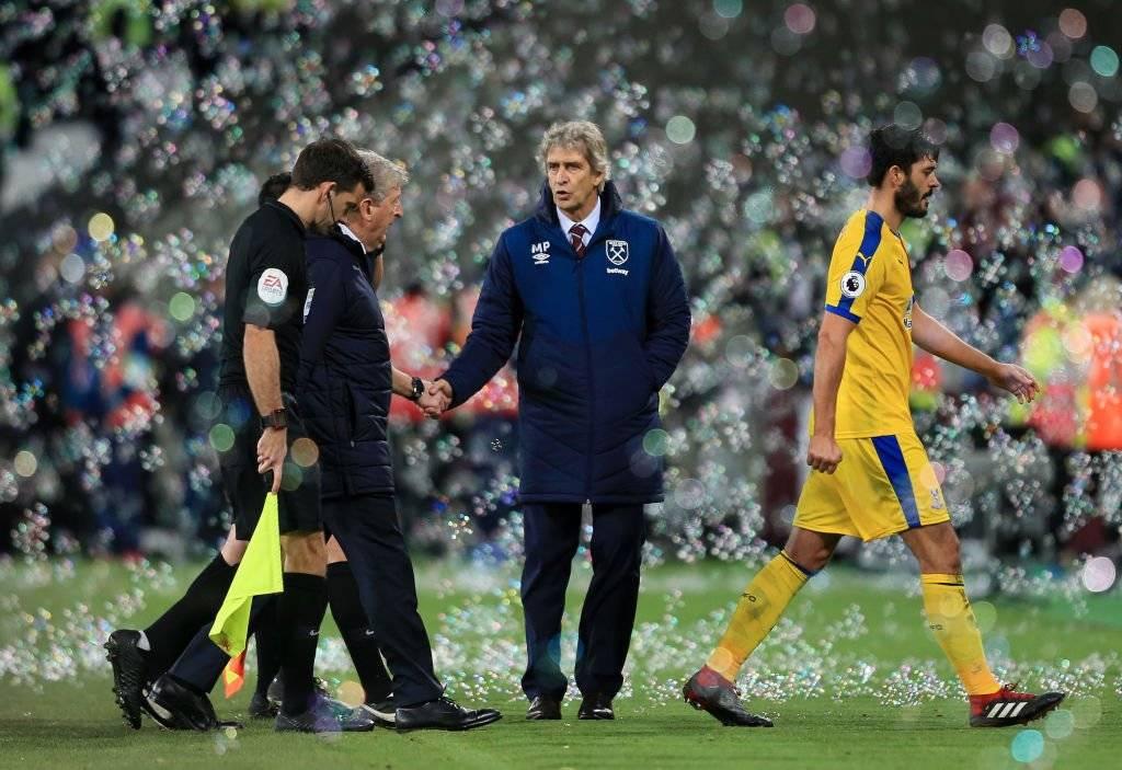 Manuel Pellegrini venció a Roy Hodgson en el duelo de técnicos / Foto: Getty Images