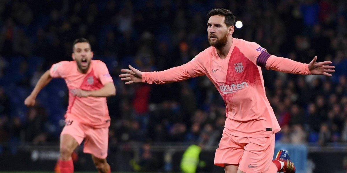 VIDEO: Messi marca par de golazos en paliza del Barça sobre Espanyol