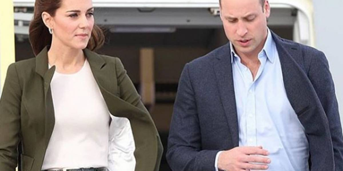 El príncipe William se burló en público del 'outfit' de su esposa Kate y ella lo puso en su lugar