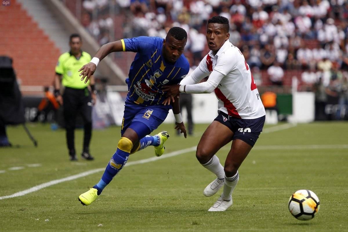 LIGA DE QUITO recibe a DELFIN en el Estadio Rodrigo Paz Delgado