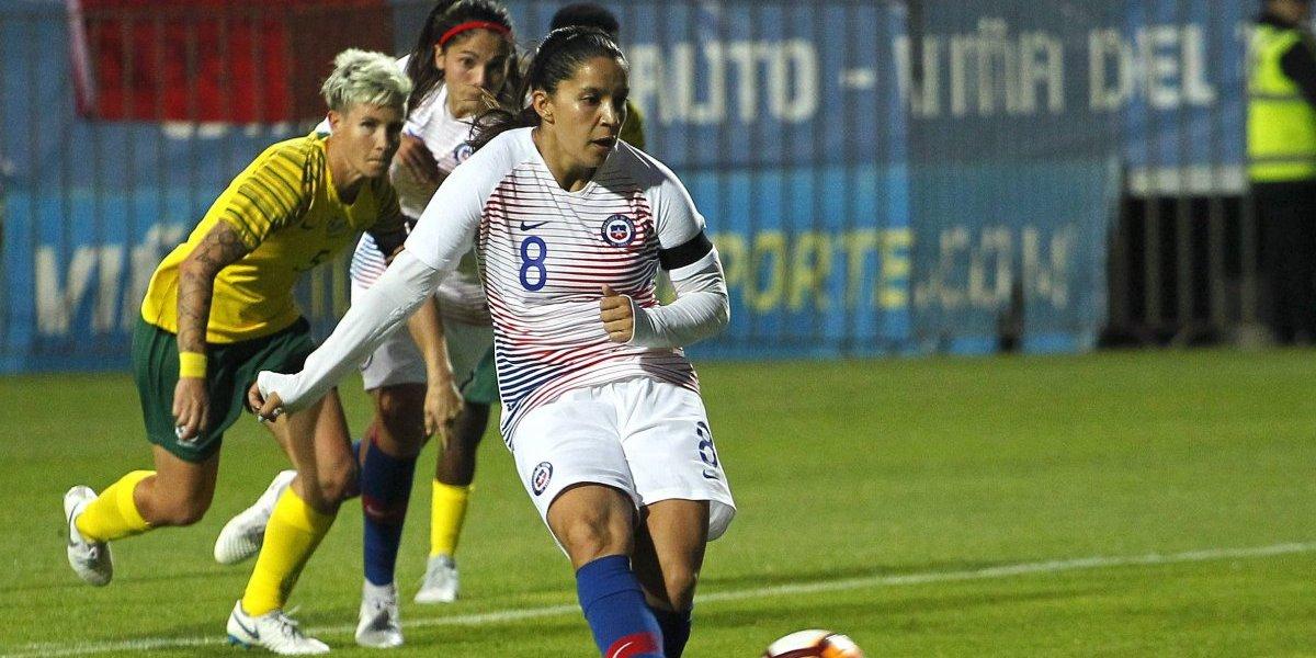 """Karen Araya y el sorteo de Chile en el Mundial: """"Si queremos un objetivo importante, hay que pelear contra quien sea"""""""