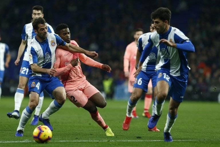 El Barcelona fue superior al Espanyol en todo momento. AFP