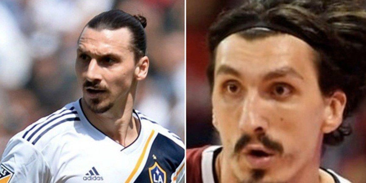 Zlatan Ibrahimovic tiene a un 'gemelo' y también es deportista