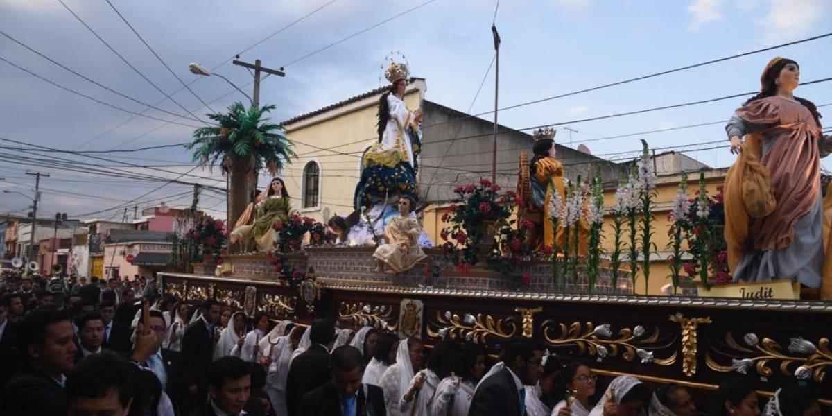 EN IMÁGENES. Virgen de la Inmaculada Concepción recorre las calles del Centro Histórico