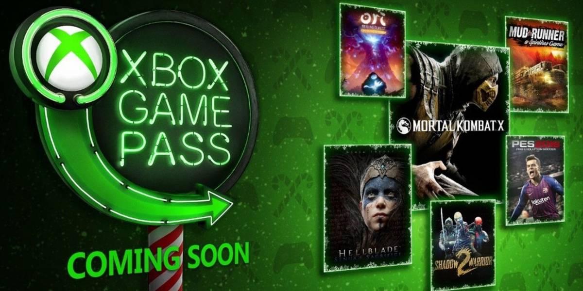 Xbox Game Pass agregará en diciembre Mortal Kombat X, PES 2019, Ori y más
