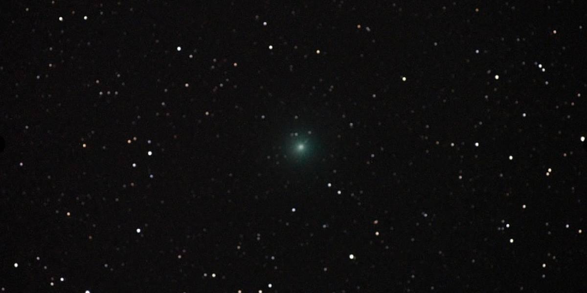 Cometa será visible desde la isla