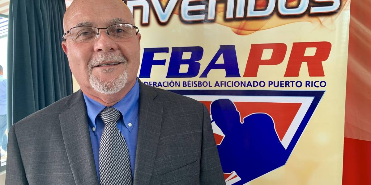 Reeligen a José Quiles como presidente de Federación de Béisbol de Puerto Rico