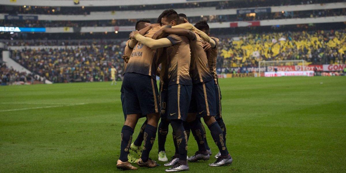 Pumas goleó al América la última vez que los visitó en semifinales
