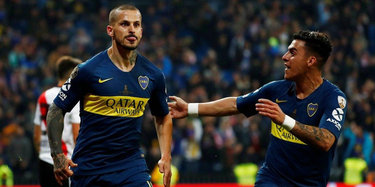 Craque raiz: Benedetto marca, faz careta e Boca tem vantagem no primeiro tempo; veja o vídeo