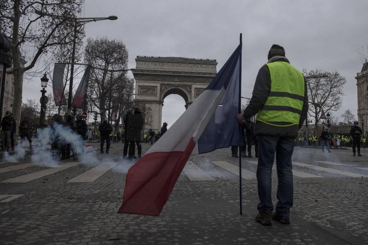 Chalecos amarillos atenúa las protestas en Francia EFE