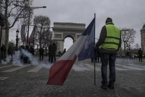 Chalecos amarillos atenúa las protestas en Francia