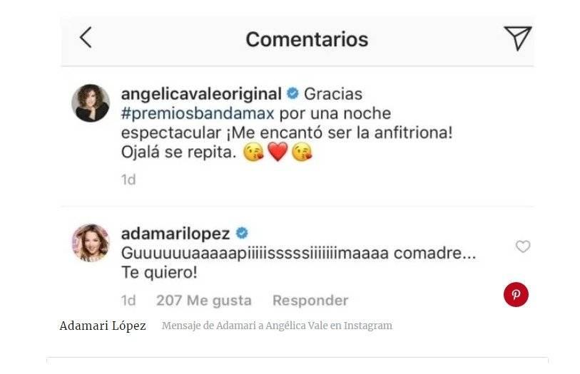 Adamari Lopez en redes