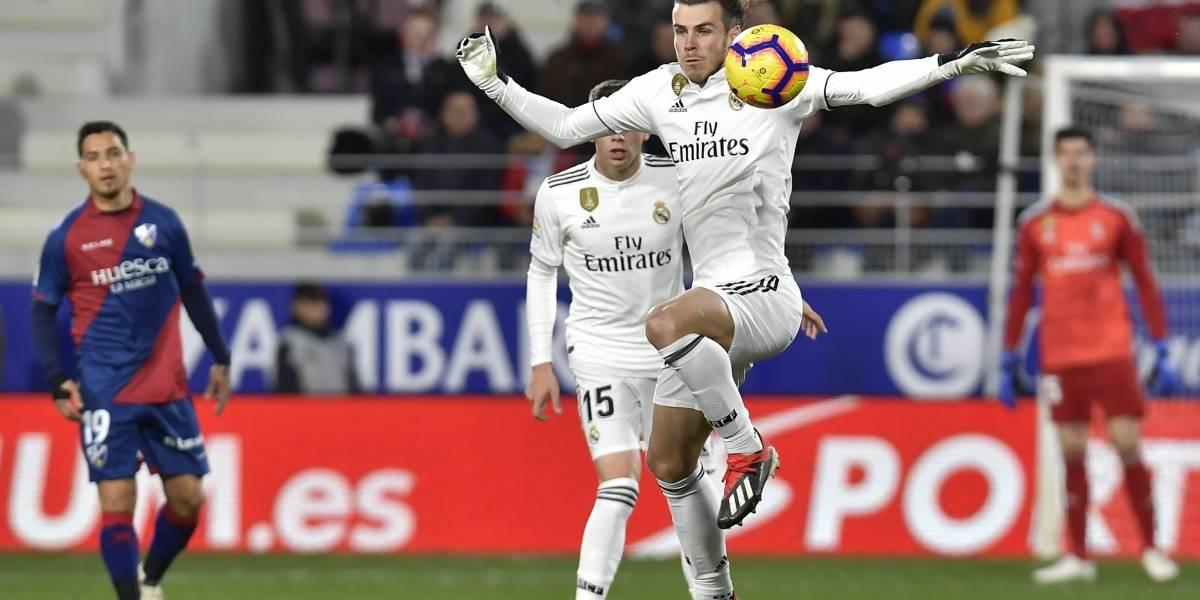 Real Madrid logra sufrida victoria