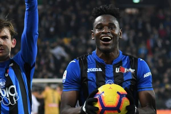 Video de goles de Duván Zapata en Udinese contra Atalanta