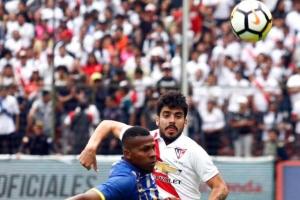 Liga de Quito vs Delfín