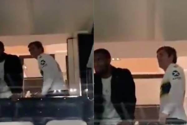 Final de la Copa Libertadores: El video de Antoine Griezmann insultando a jugadores de River Plate