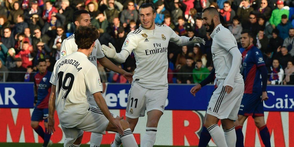Real Madrid sufrió más de la cuenta para vencer de visita al colista de La Liga