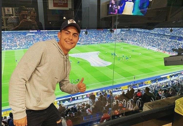 Paulo Dybala (Twitter Conmebol) Twitter Conmebol