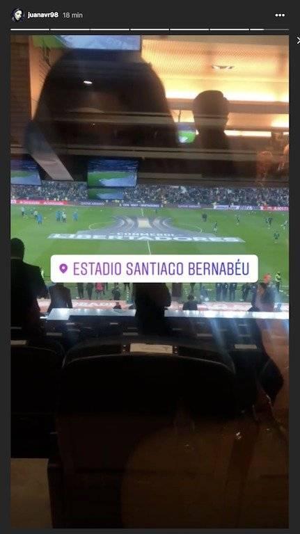 James en el Bernabéu