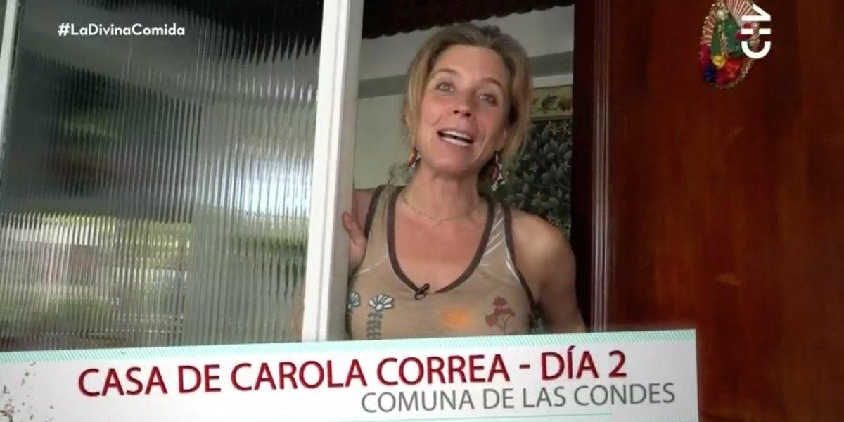 """La increíble casa que Carola Correa lució en """"La divina comida"""""""