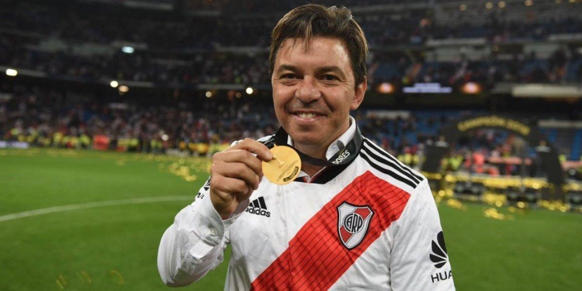 Marcelo Gallardo no se cansa de sumar títulos y ya es el técnico más ganador de River Plate