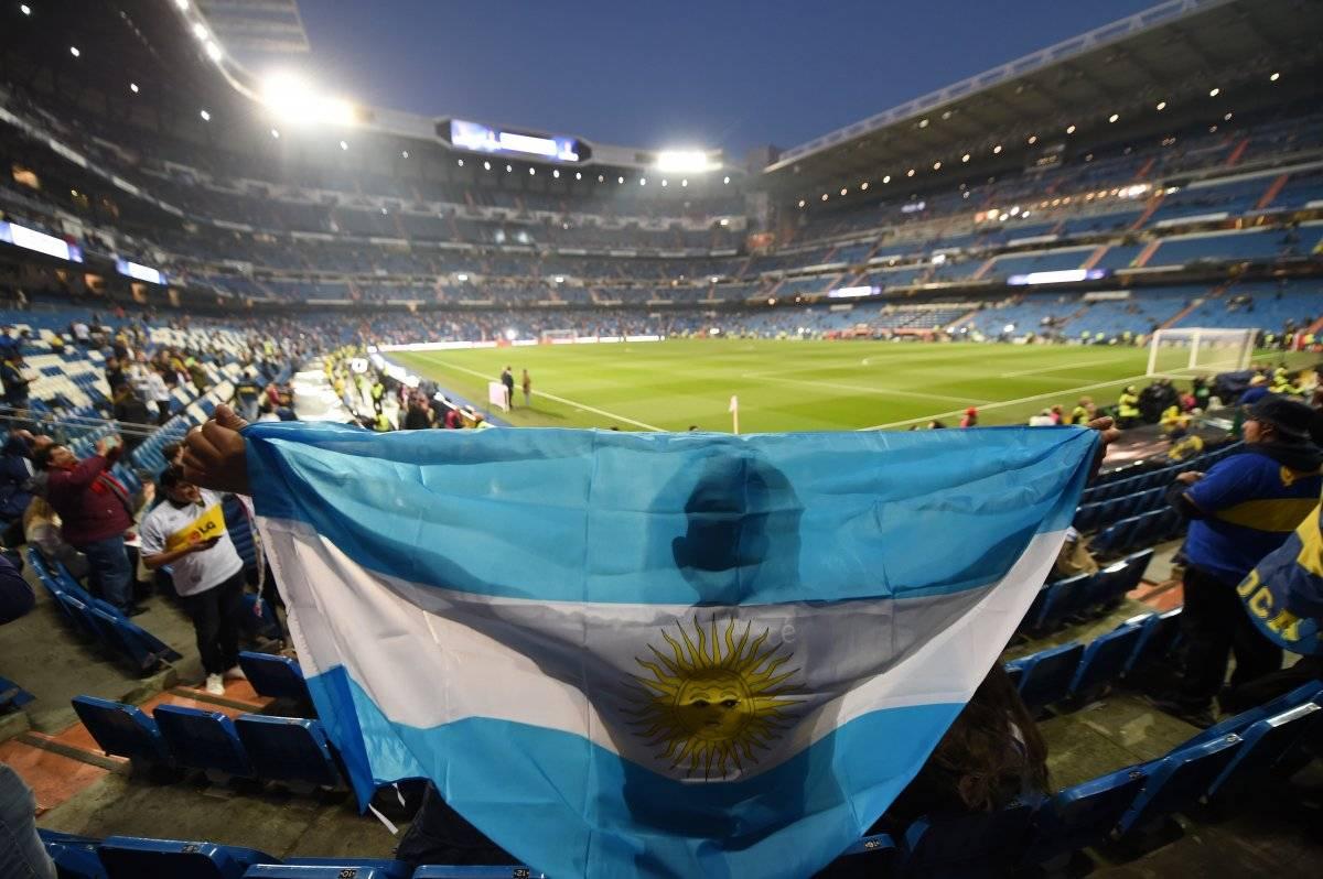 El Santiago Bernabéu lucirá lleno para el partido entre River y Boca Getty images