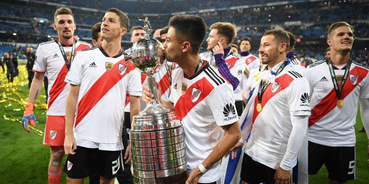 River Plate ya suma cuatro: Los campeones de Copa Libertadores