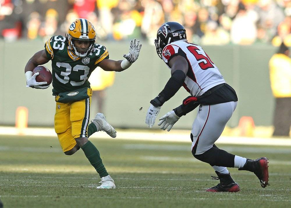 Falcons 20-34 Packers / Getty Images
