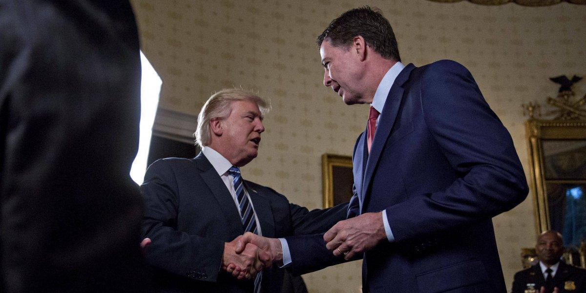 Trump acusa a ex director del FBI de mentir ante el Congreso